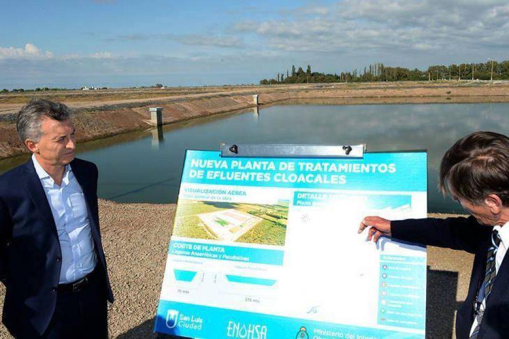 En cuatro años, Macri destinó el 66% del dinero para agua y cloaca a tres gobernadores amigos