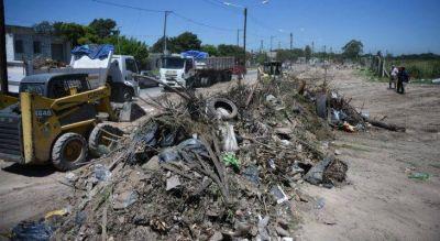 Comienza la limpieza de los basurales en toda la ciudad