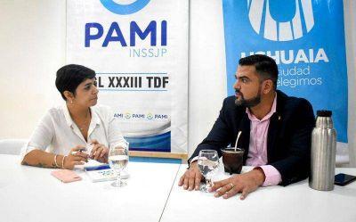 El Municipio de Ushuaia y PAMI trabajarán en una agenda común