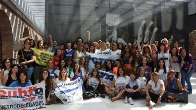 Primer encuentro de mujeres sindicalistas con la ministra Elizabeth Gómez Alcorta