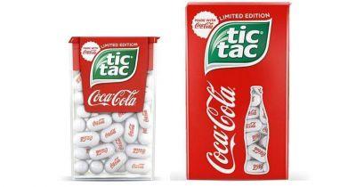 Tic Tac y Coca-Cola unen fuerzas para lanzar
