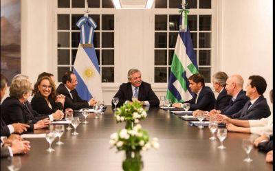 Fernández anunció inversiones por más de 700 millones de dólares junto a Kicillof, Larreta y Morales