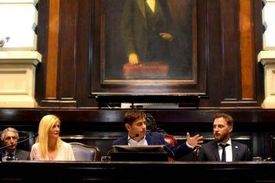 Sin anuncios, críticas a Vidal y la identidad bonaerense: ítems del discurso de Kicillof