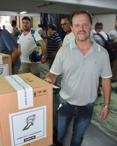 Santa Fe: Sergio Aladio sigue al frente de la conducción del gremio de Camioneros