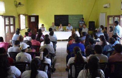 Regularización de tierras: El gobierno inició relevamiento en el lote 88 de Miraflores