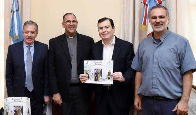 Autoridades Eclesiásticas de la diócesis de Añatuya visitaron al gobernador