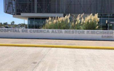 """Restituyen el nombre de """"Néstor Kirchner"""" al hospital de la Cuenca Alta de Cañuelas"""