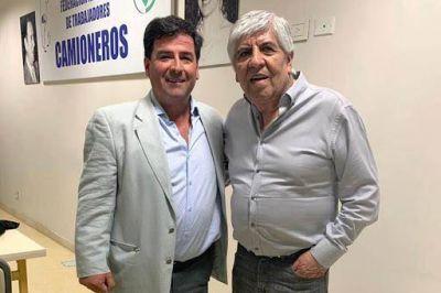 Hugo Moyano y Jorge Frías coincidieron en la necesidad de aprovechar el recurso pesquero argentino