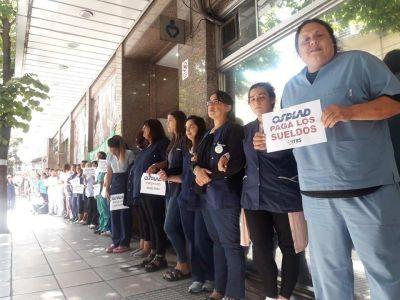 El SITOSPLAD vuelve a marchar en reclamo del pago de salarios adeudados