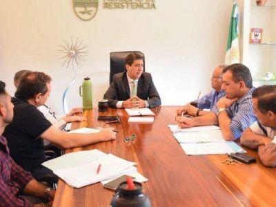 Gustavo Martínez se reunió con Sampayo: fotomultas, residuos sólidos y modernización, algunos de los temas