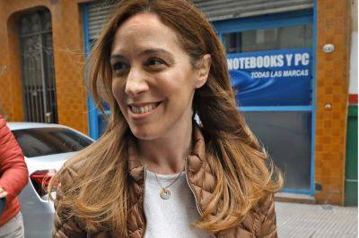 Reaparece María Eugenia Vidal tras las críticas de Axel Kicillof