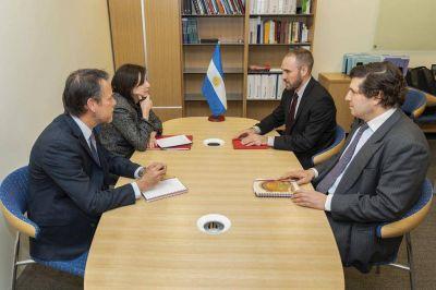 Nuevo encuentro de Guzmán con los técnicos del FMI (en medio de charlas con fondos de inversión)