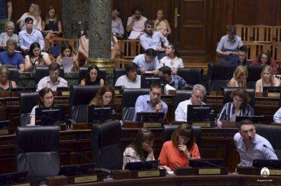 La primera sesión: Ley Tarifaria, Consenso Fiscal y el dirtectorio del Banco Ciudad