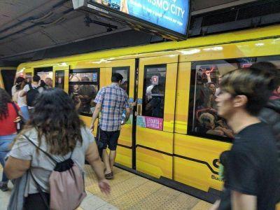 Asbesto en el subte: comprarán trenes nuevos para la Línea B después de 60 años