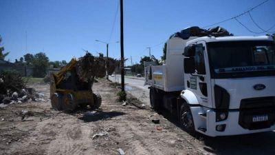 Retiraron más de 10.000 toneladas de basura de microbasurales