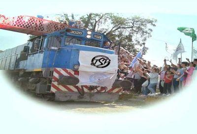Las donaciones para el tren solidario de la Juventud Sindical podrán entregarse en el Sindicato de Seguro