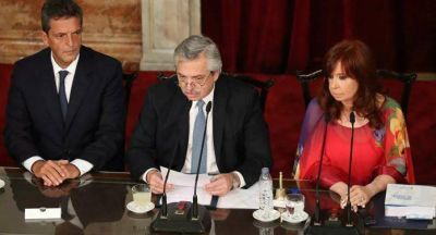 El presidente argentino, Alberto Fernández, anunció la desclasificación de archivos relacionados con la AMIA