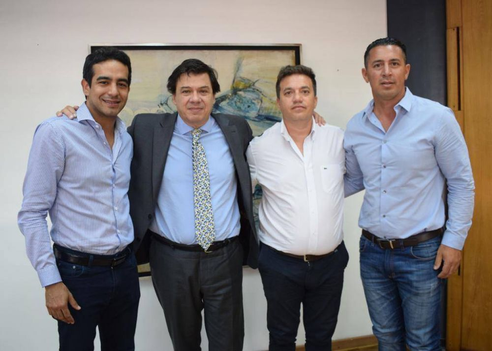 La Juventud Sindical Peronista se reunió con el Ministro de Trabajo de la Nación