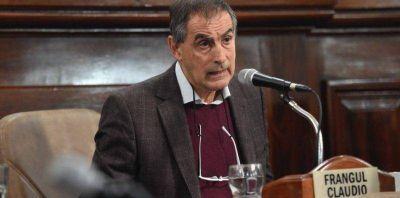 """""""El Puerto La Plata tendrá un gran desarrollo en el mediano plazo"""", aseguró Claudio Frangul"""
