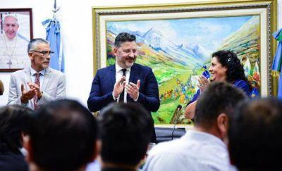 Menéndez abrió el período de sesiones ordinarias del Deliberante de Merlo