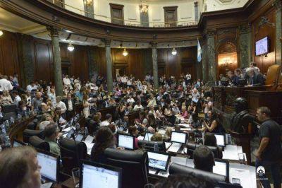 La Legislatura ratificó el Consenso Fiscal firmado entre Fernández y Larreta