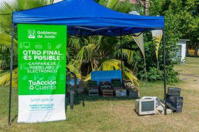 Continúa la campaña de recolección de residuos electrónicos