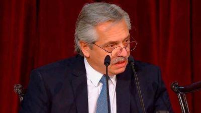 Alberto Fernández reconoce el mal humor de los bonistas y pretende cerrar la negociación en abril