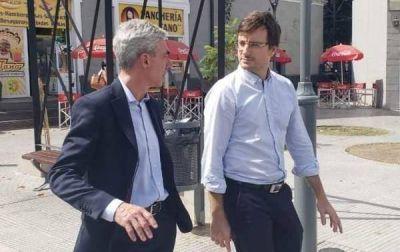 El ministro de Transporte y el intendente de Morón recorrieron El Palomar