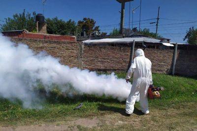Merlo: Se intensifican las tareas de fumigación