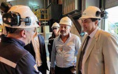 Secretario de Energía recorrió Central Térmica Ensenada Barragán que anunció inversión de 180 millones de dólares