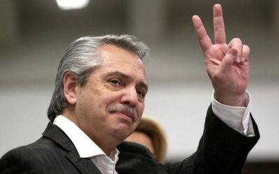 Alberto Fernández registró una imagen positiva del 58% tras el primer trimestre de gestión