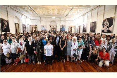 Las mujeres de la historia argentina volvieron a la Casa Rosada