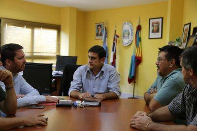 El titular del Eprac se reunió con el presidente de la Ceel y el intendente