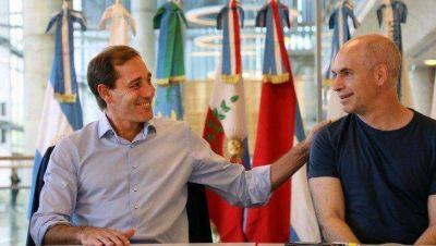 Garro dialoga con Larreta para trasladar el puerto de Buenos Aires a La Plata