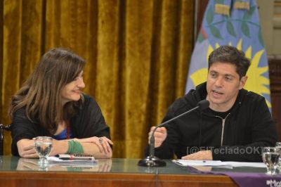 Día de la Mujer: Kicillof participará del acto de cierre en La Plata