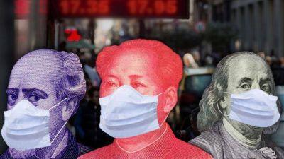 Efecto coronavirus: en el Banco Central ya revisan a la baja los números de la economía local