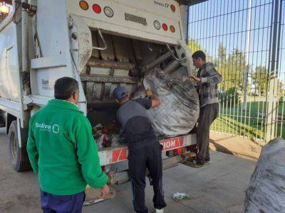 Prueba piloto de separación de residuos en la Unidad 17
