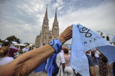 Las claves del mensaje de la Iglesia contra el aborto en la misa de Luján