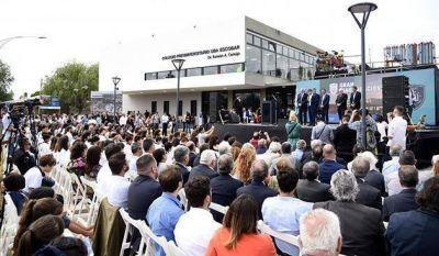 Día histórico en Escobar: Se inauguró el colegio preuniversitario de la UBA