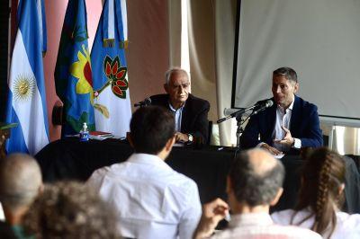 Fernando Gray encabezó reunión del Comité de Gestión Laguna de Rocha