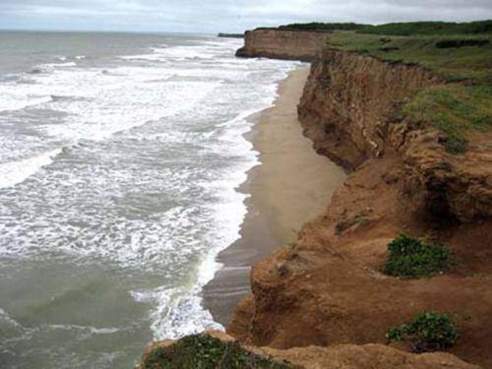 Alertan por la erosión en las costas de la Provincia