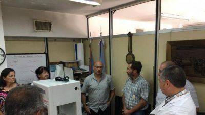 Balcarce: Reino suma importante aparatología para el Hospital