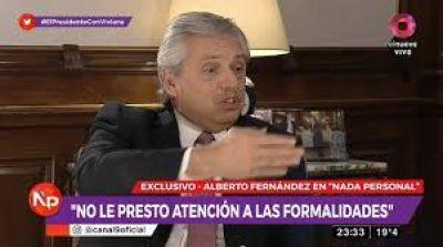 Alberto habló de todo: el plan económico, la deuda, la Justicia y su sueño para 2023