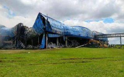 General Las Heras: Más de 100 despidos de Cabaña Argentina, el frigorífico incendiado el 1° de enero