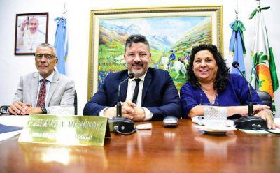 """Menéndez afirmo """"Es fundamental profundizar lo que está haciendo el Presidente Alberto Fernández"""""""