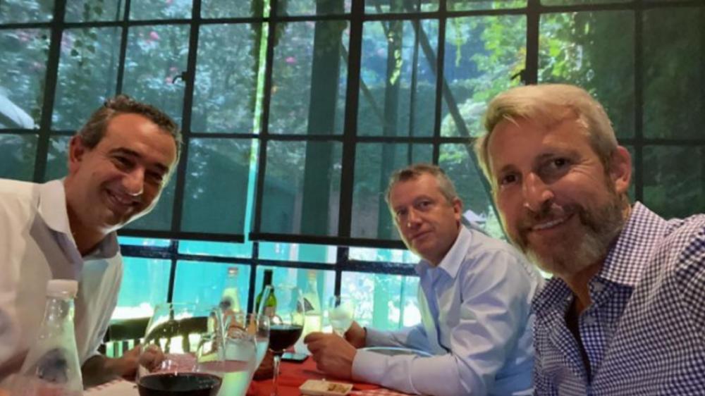 Cumbre de Javkin, Frigerio y Monzó para analizar una alternativa de centro
