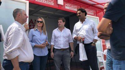 Legisladores y ex ministros de Vidal coparon Expoagro el día más fuerte del paro