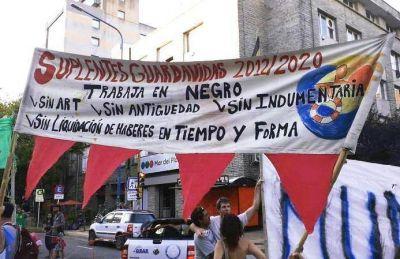 """Los Guardavidas Suplentes Municipales de la UGA denunciaron """"precarización laboral"""""""