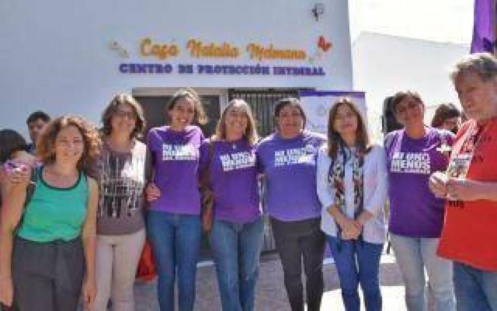 Miramar: Ministra de Mujeres bonaerense inauguró la casa de protección