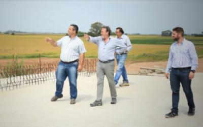 Funcionarios de Vialidad Nacional supervisaron avance de obras en Autopista Luján-Junín